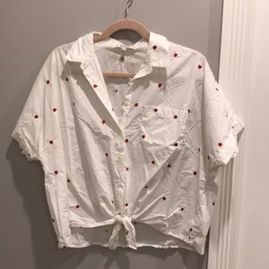Madewell tie button down